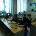 На мастер классе в «Вернисаж»